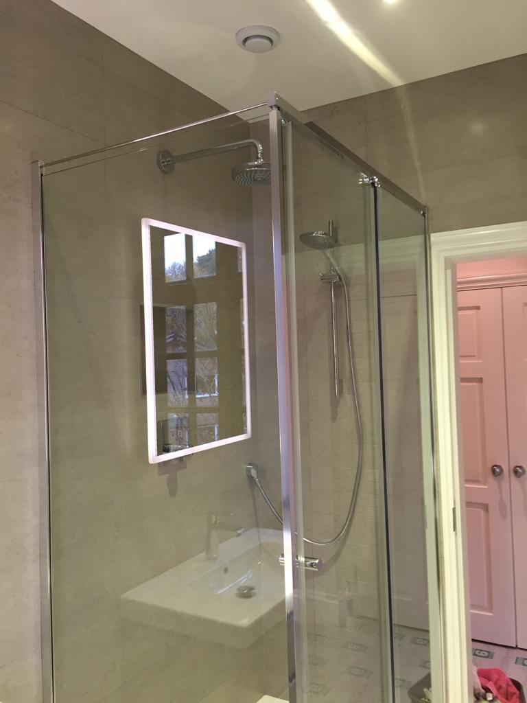 Bathroom Mirrors Guildford en-suite bathroom guildford | moss installations